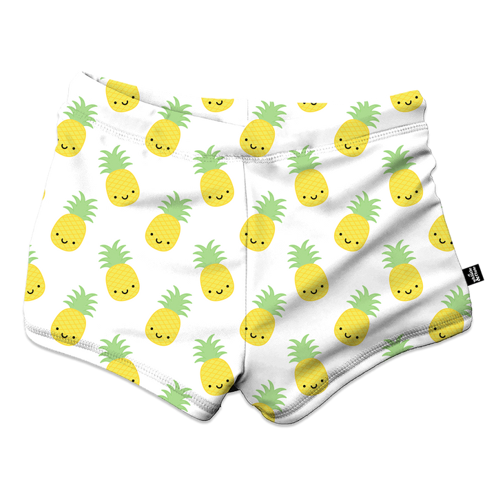 Kawaii Pineapple Swim Trunks