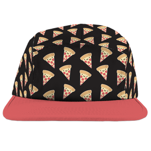 Kawaii Pizza Camp Cap