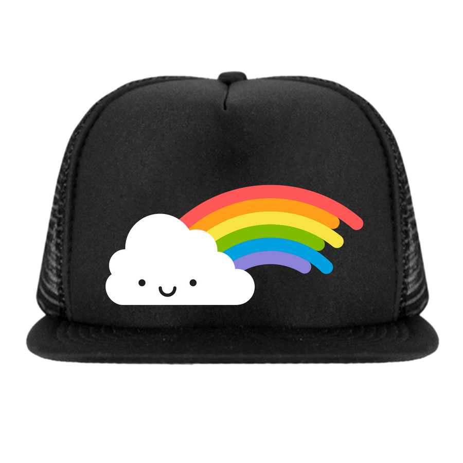 Kawaii Rainbow Snapback Trucker Cap
