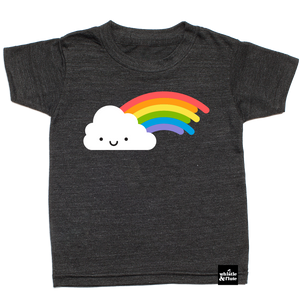 Kawaii Rainbow T-Shirt Dark