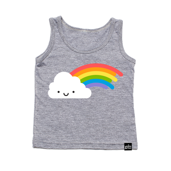Kawaii Rainbow Tank Top