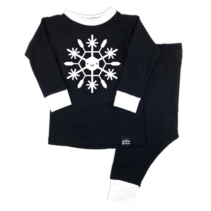 Kawaii Snowflake Pyjama Set