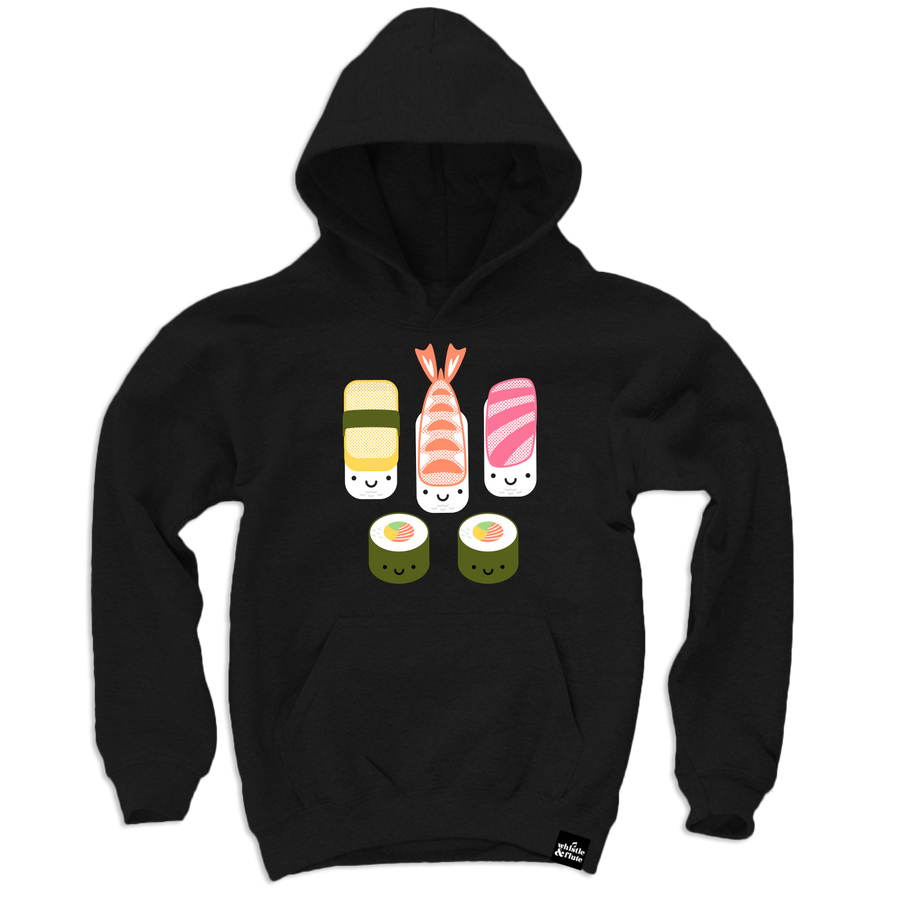 Kawaii New Sushi Hooded Sweatshirt