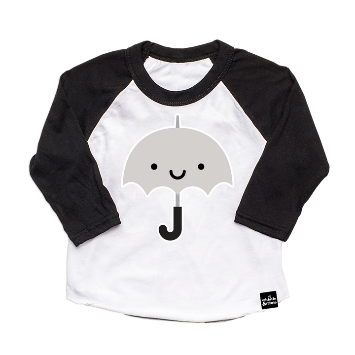 Kawaii Umbrella Baseball T-Shirt