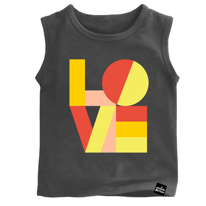 Modern Love Sleeveless T-Shirt