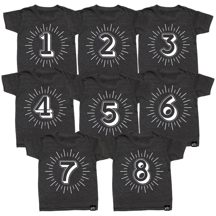 Milestone Number T-Shirt