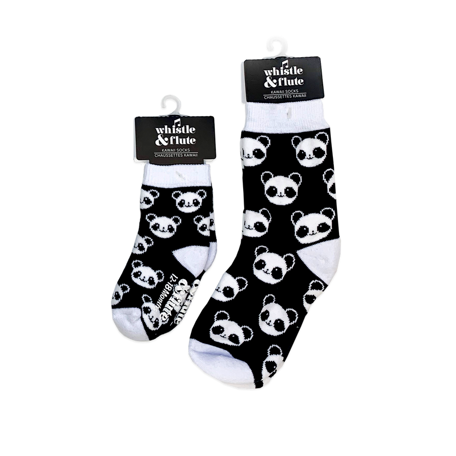Kawaii Panda Boot Socks Kids/Adult