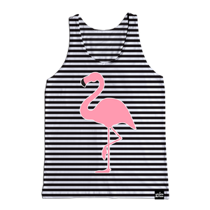 Flamingo Striped Tank
