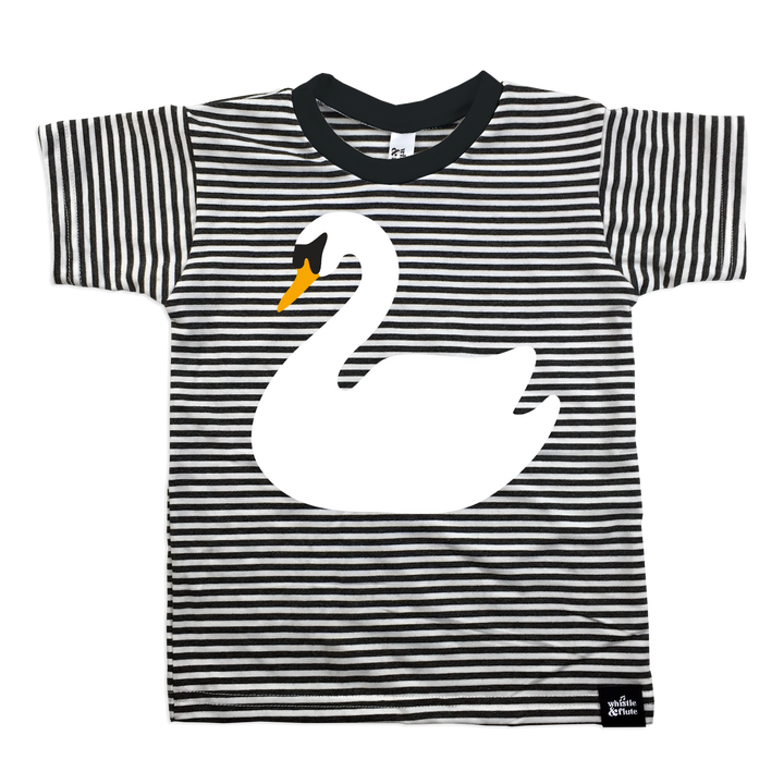 Swan Striped T-shirt