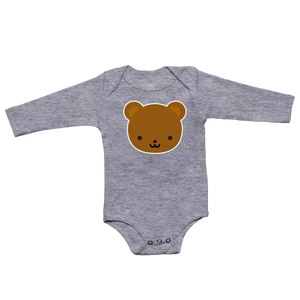 Kawaii Bear Longsleeve Bodysuit