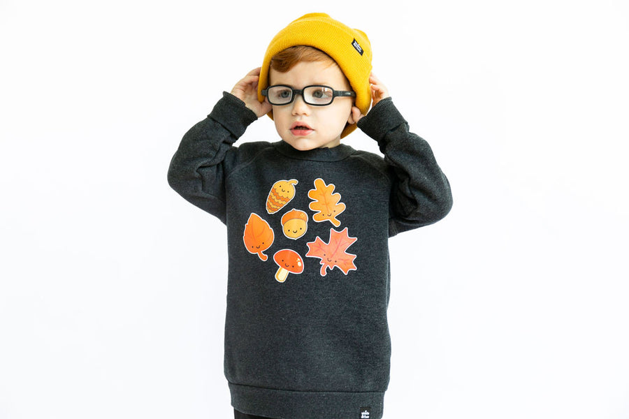 Kawaii Leaves Sweatshirt