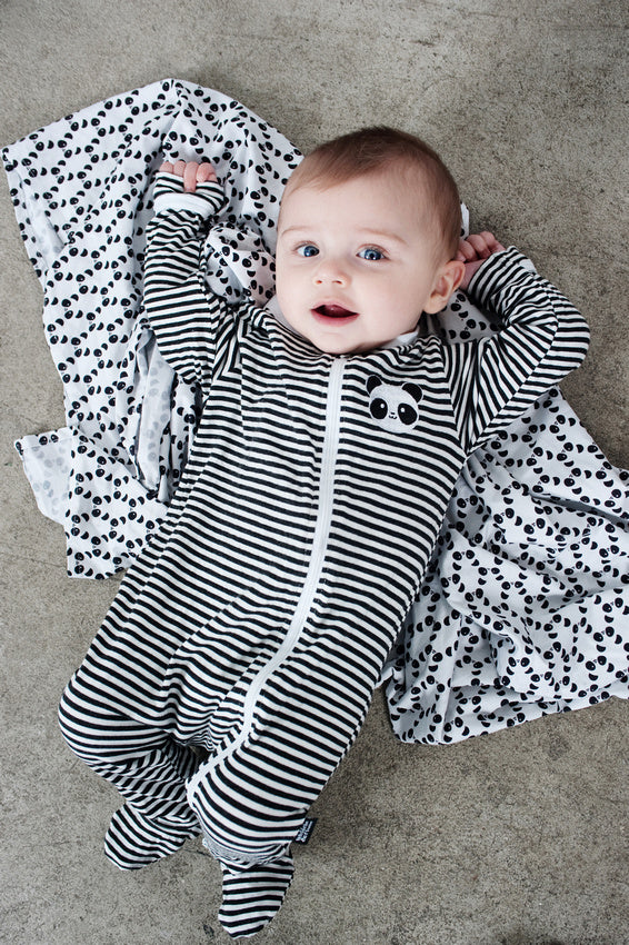 Kawaii Panda Bamboo Swaddle