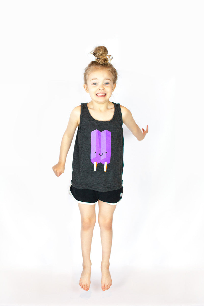 Kawaii Ice Pop Tank - Purple