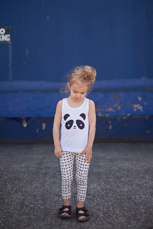 Kawaii Panda Tank Top