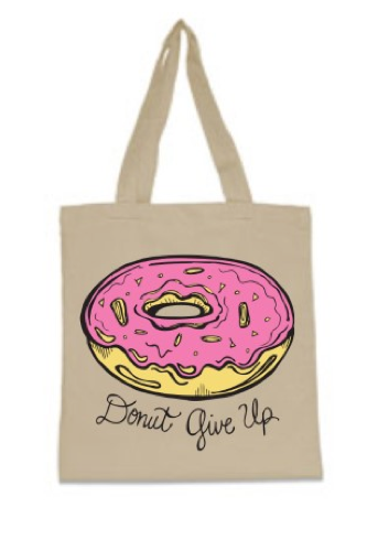 Donut Give Up Tote