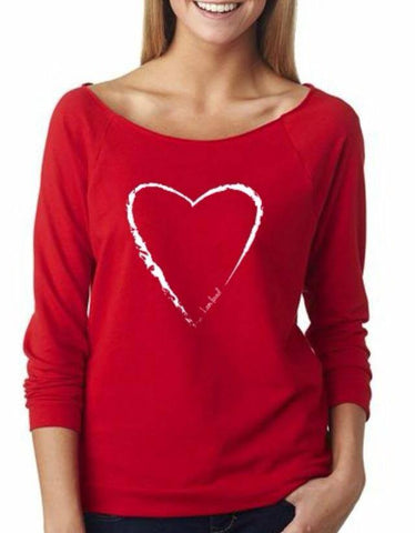I am loved sweatshirt (red)