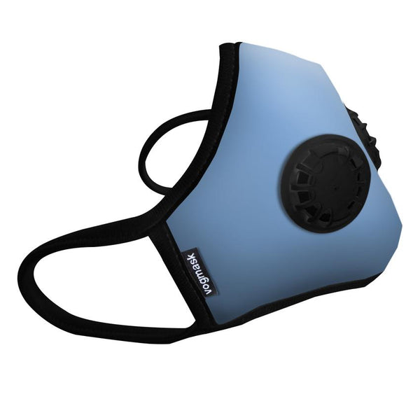 Organic Cotton Dual Valved Vogmask in Blue