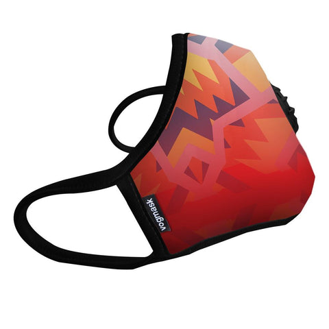 Burning Crown Valved Microfiber Vogmask