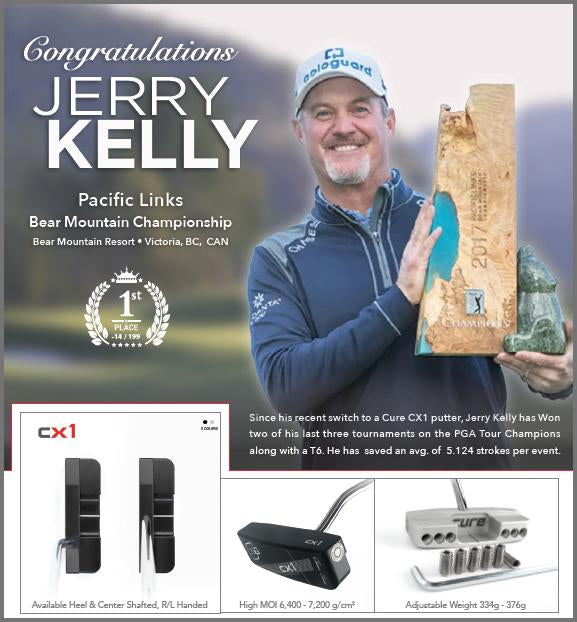 Jerry Kelly wins the Pacific Links Bear Mountain Championship - PGA Tour Champions