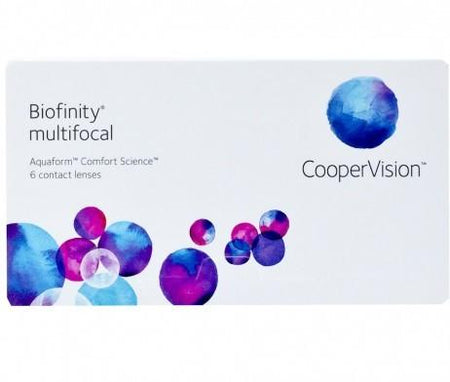 CooperVision Biofinity Multifocal Contact Lenses 6 Pack