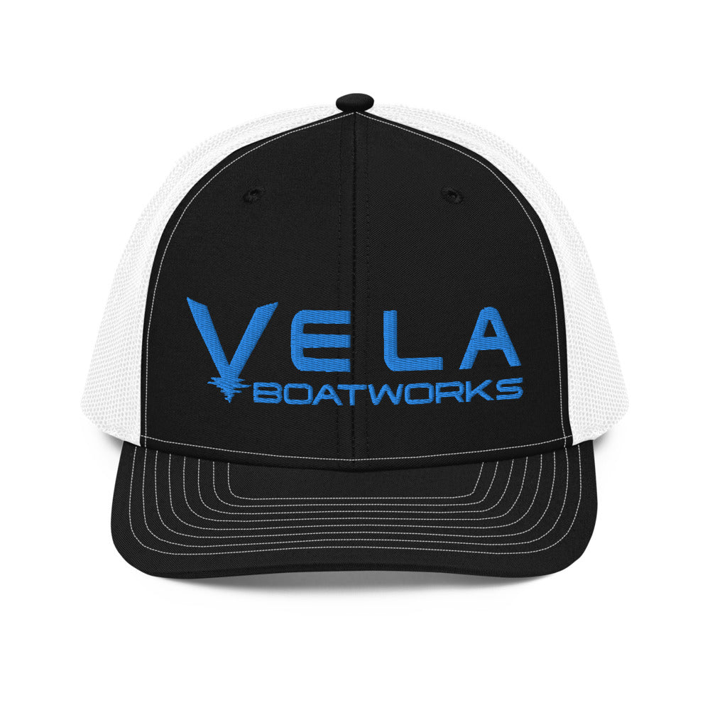 Vela Blue Trucker Cap