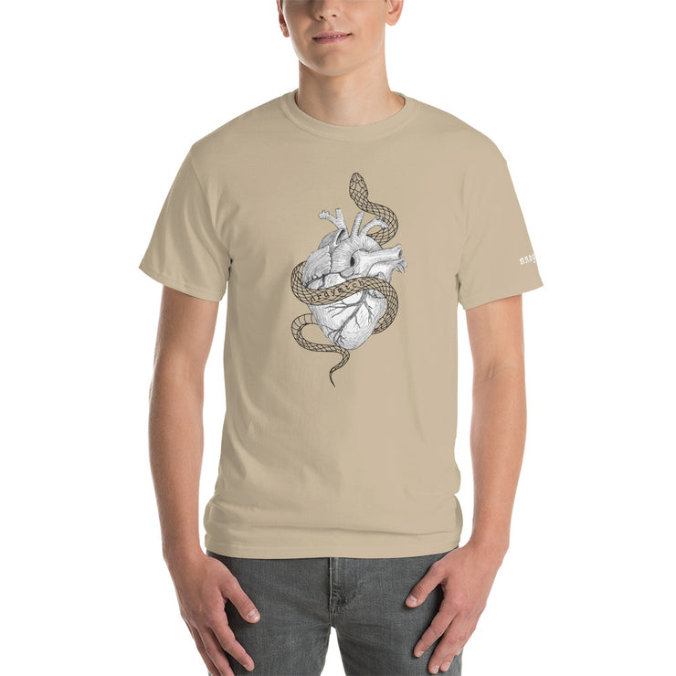 HEART & SNAKE - Unisex Cotton Shirt - Beige
