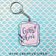 Load image into Gallery viewer, Girl Gang -Enamel Keychain