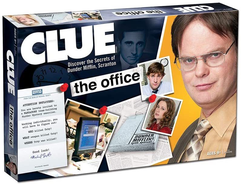 CLUE: The Office Edition Board Game