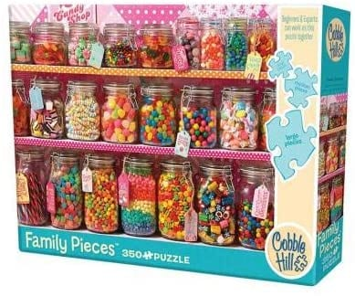 Cobble Hill: Candy Counter: 350 Piece Puzzle