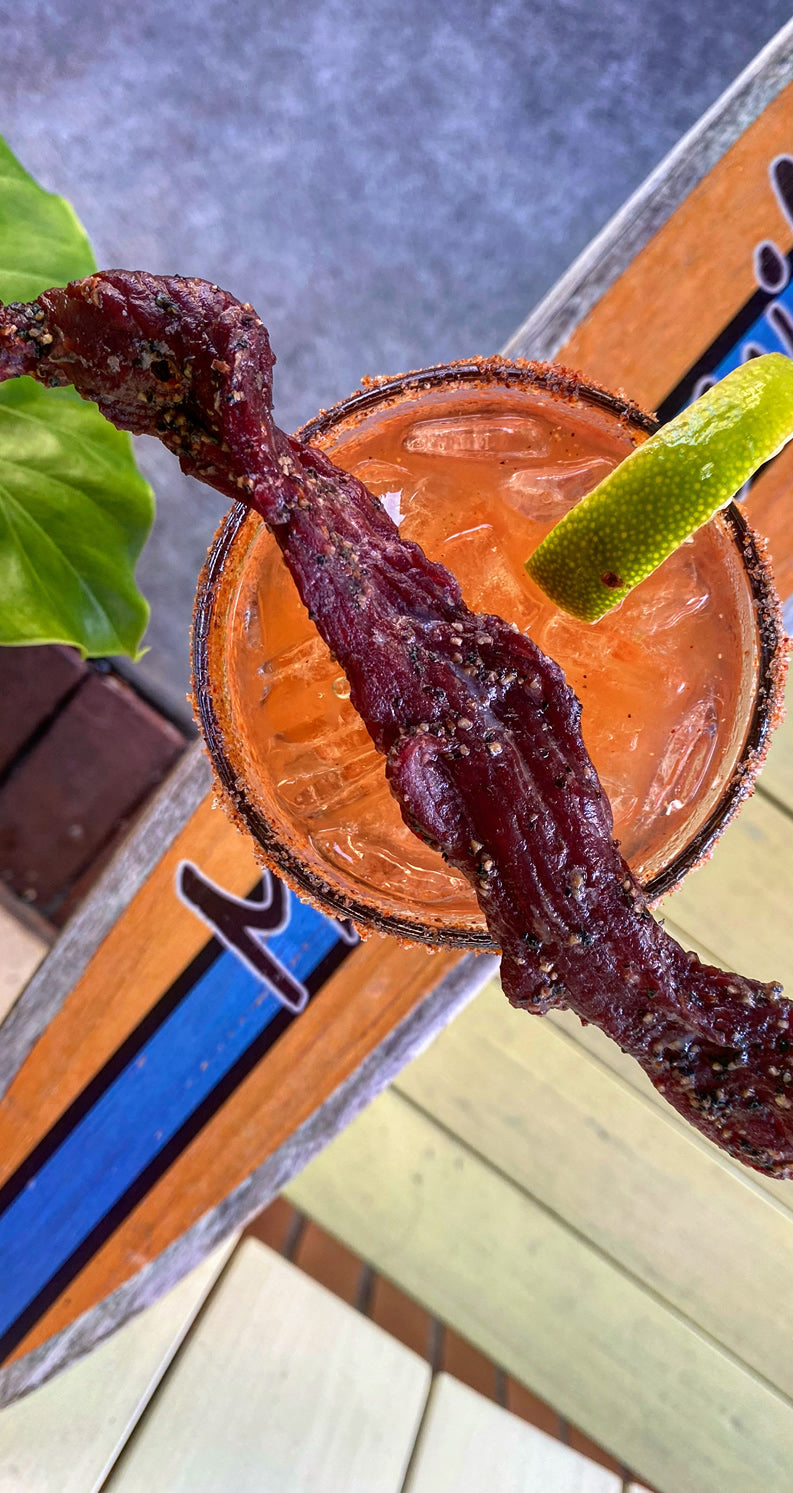 Blood Brothers Bloody Mary with Bacon