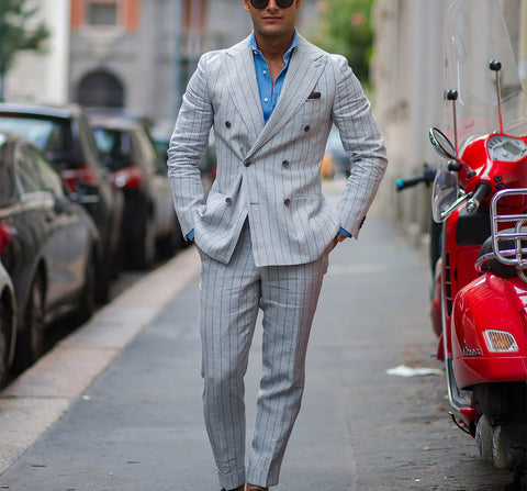 Double Breasted Suit- The Ultimate Guide - Buttoning