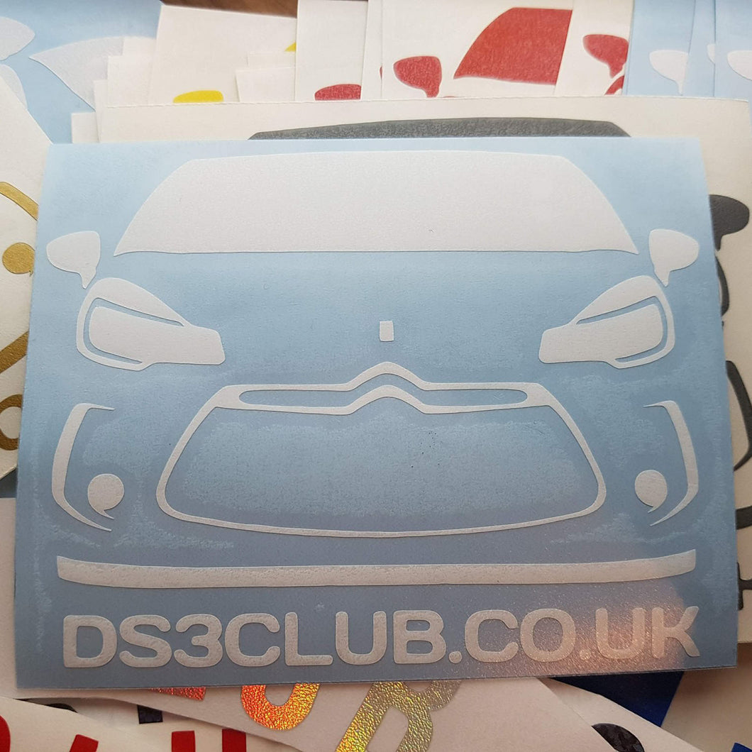 Pre Facelift Club Decal