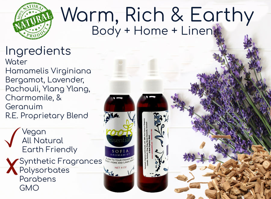 Aromamist Sampler Collection (Body + Home + Linen)