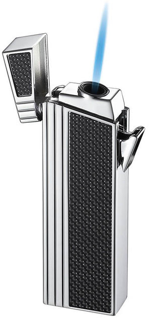 Caseti Double Designed Compact Torch - Chrome