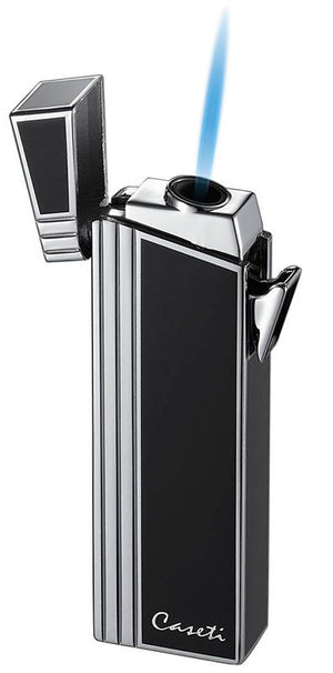 Caseti Double Designed Compact Torch - Black Lacquer
