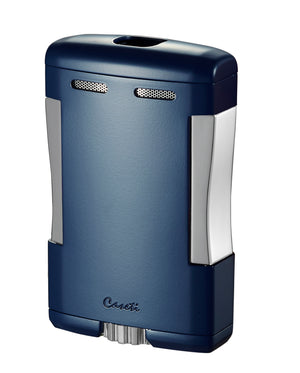 Caseti Sparta Blue Matte Triple Flame Torch Lighter