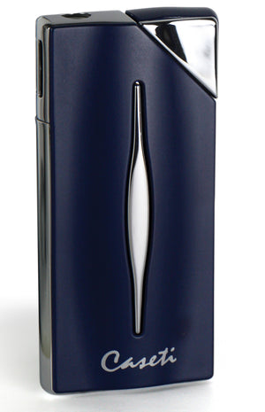 Caseti Diagonal Ignition Lighter - Matte Blue