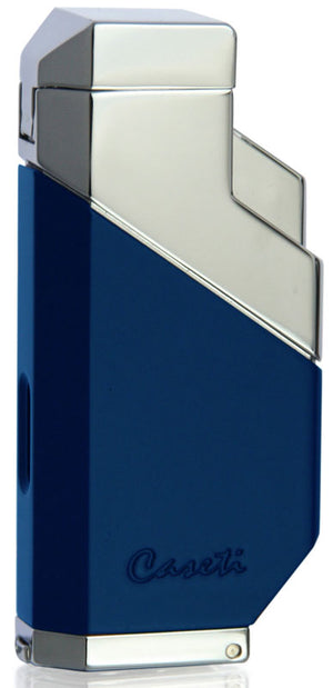 Caseti Cozmo Triple Flame Lighter - Matte Blue