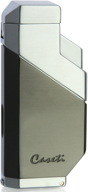 Caseti Cozmo Triple Flame Lighter - Gunmetal