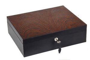 Brizard & Co Airflow Humidor - Sunset Black & Wenge