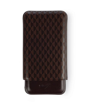 Davidoff Cigar Case XL3 Brown Leather Curing