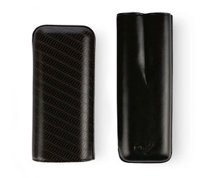 Davidoff Cigar Case XL2 Black Leather Enjoyment