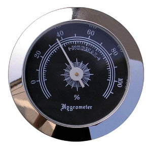 Visol Analog Hygrometer for Cigar Humidors