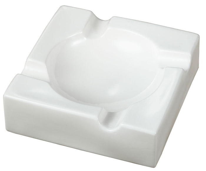 Donovan Ceramic  Cigar Ashtray - White