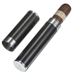 Grayson Carbon Fiber Larger Cigar Tube