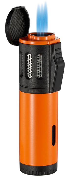 Artemis Triple Torch Cigar Lighter - Orange