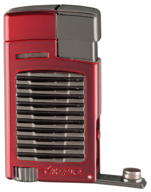 Xikar Forte Single Jet Lighter- Red