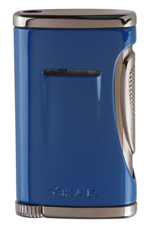 Xikar Xidris Blue Single Jet Lighter