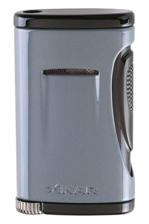 Xikar Xidris Gray Single Jet Lighter