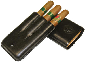 Dunhill Bulldog Cigar Case Robusto Black 3